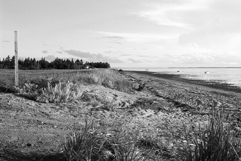 Pointe-Canot, Nouveau-Brunswick, 2008. Photographie par François Carl Duguay.