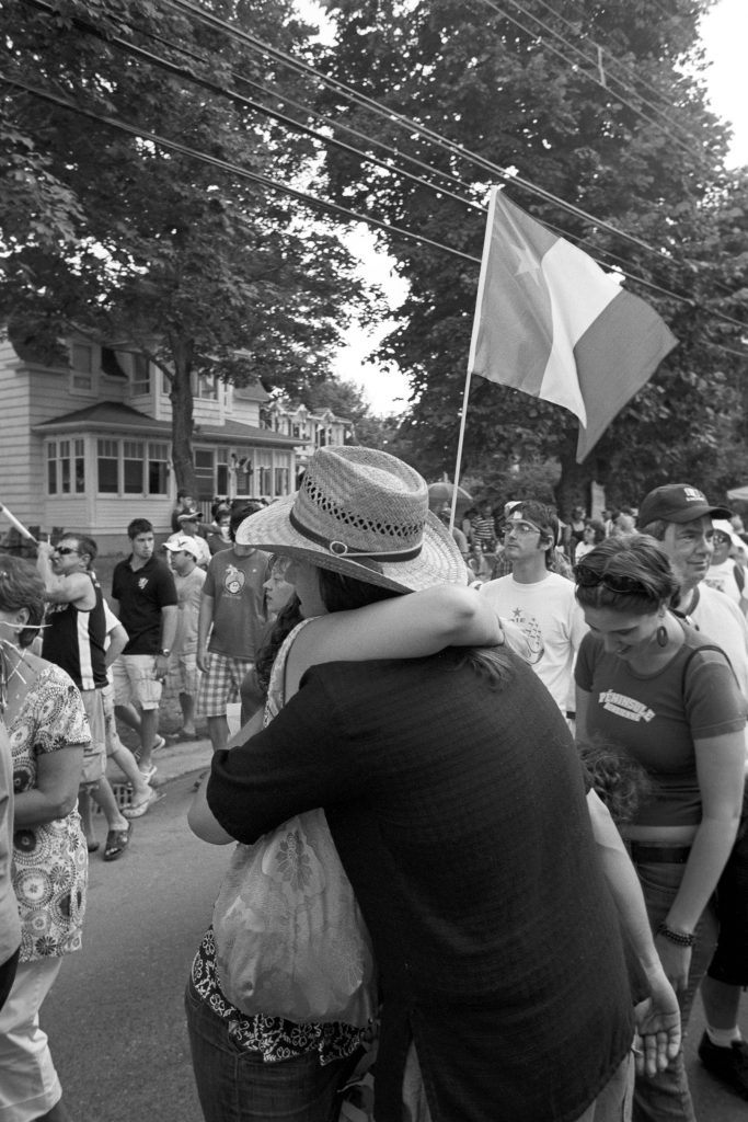 Caraquet, Nouveau-Brunswick, 2008. Photographie par François Carl Duguay.